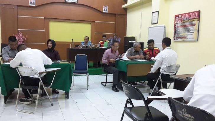 14 Orang Casis Tantama Test Wawancara PMK Di Lantai 4 Mapolda Sulsel