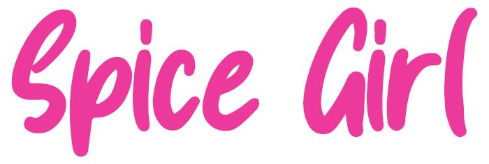 Spice Girl Font