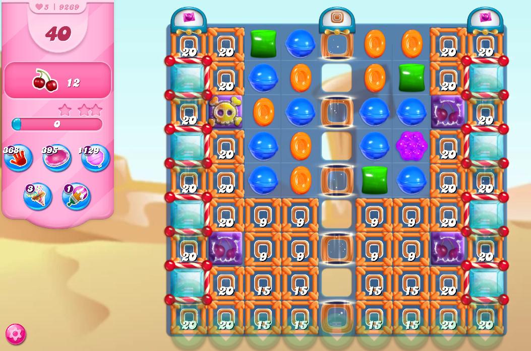 Candy Crush Saga level 9269