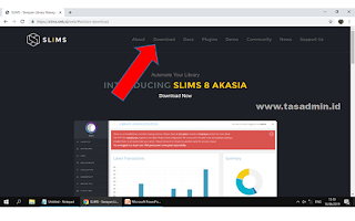download aplikasi slims terbaru