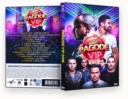 DVD – PAGODE VIP 2018 – ISO
