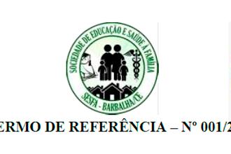 TERMO DE REFERÊNCIA – Nº 001/2020: Contratação de consultoria especializada em Governança no Terceiro Setor