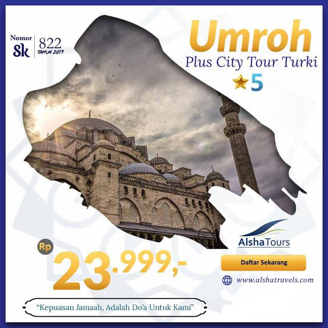 umrah murah plus turki