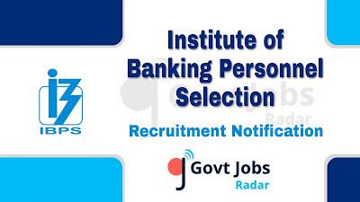 IBPS recruitment notification 2019, govt jobs for graduates, govt jobs in india, central govt jobs, banking jobs, bank jobs
