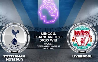 Live Streaming Mola TV Tottengam Vs LIverpool