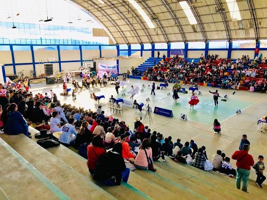 I Concurso Selectivo de Marinera 2019, organizado por el Club Libertad en Cajabamba