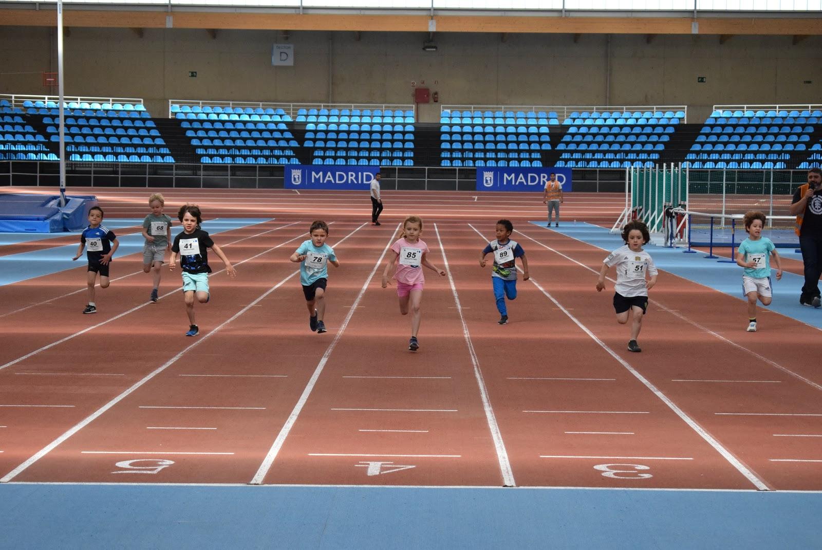 Récord de participación en el III Meeting de Atletismo infantil de ...