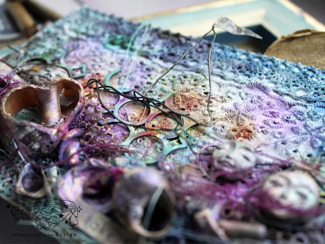 @nastyalena #mixedmedia #scrapbooking #cardmaking