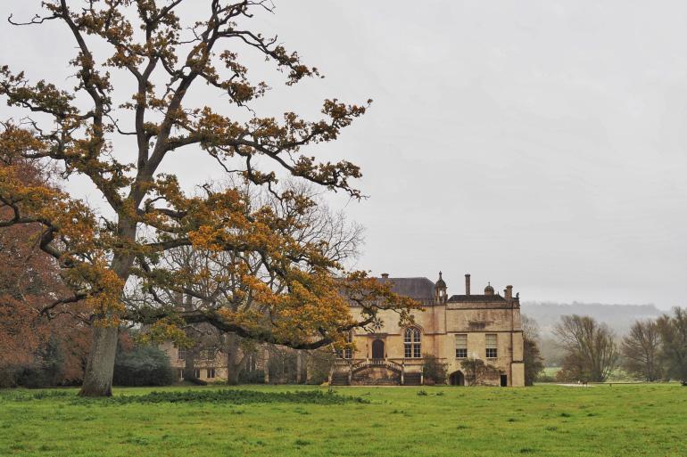 Abbaye de Lacock dans les Cotswolds en Angleterre