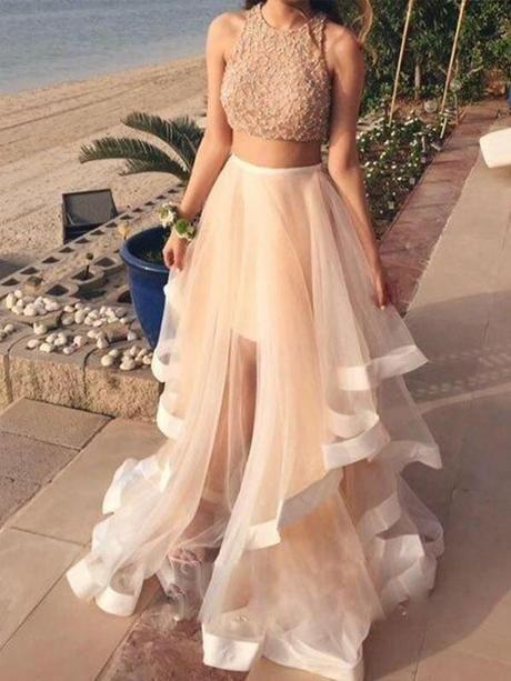 فستان سوارية غير محجبات اوف وايت