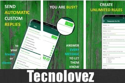 Autoresponder - Applicazione che consente di impostare risposte automatiche ai messaggi di WhatsApp ricevuti
