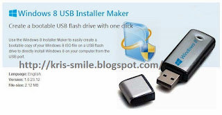 Win8USB - Windows 8 USB Installler Maker