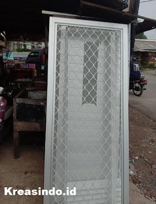 Pintu Expanda pesanan Bpk Joni di Tajur Bogor