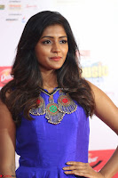 Eesha in Cute Blue Sleevelss Short Frock at Mirchi Music Awards South 2017 ~  Exclusive Celebrities Galleries 038.JPG