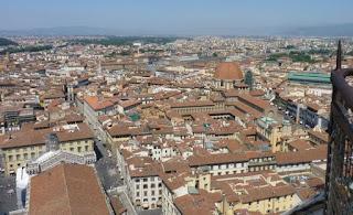 Vistas de Florencia desde la cúpula de Brunelleschi.
