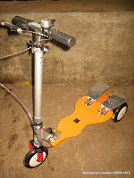 1 Elite QY12APL Three Lites Dual Pedal Scooter - Extra Large