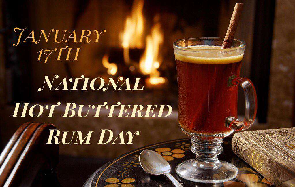 National Hot Buttered Rum Day Wishes Awesome Picture