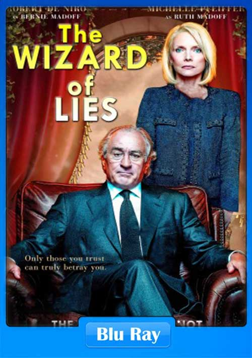 The Wizard of Lies 2017 BRRip 480p 400MB x264 Poster