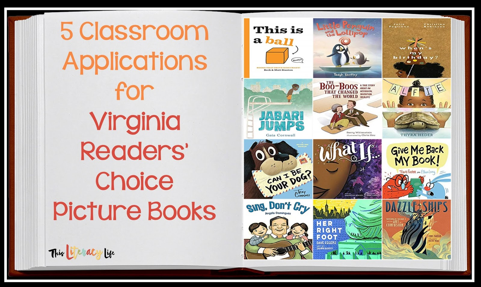Using your state's readers choice books can be super easy if you use these simple tricks! Don't miss out on ways you can use the in your classroom for instruction every day!
