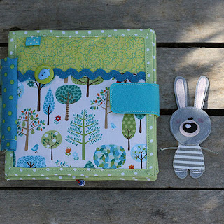 Handmade quiet book ספר בד רך