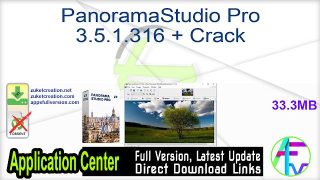 PanoramaStudio Pro 3.5.1.316 + Crack