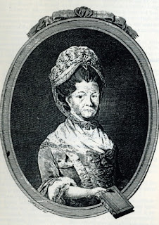 Portrait of Elizabeth Raffald