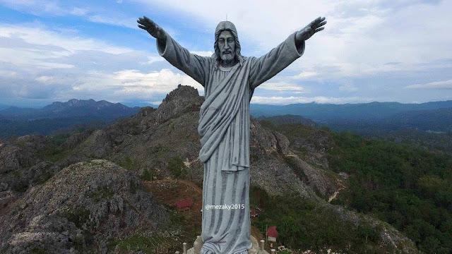 Patung Yesus Tertinggi di Dunia Dibangun di Tana Toraja