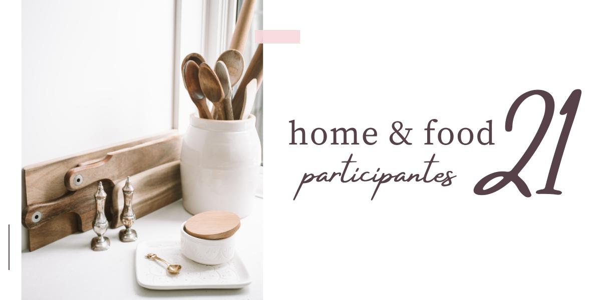 HOME&FOOD 21, PARTICIPANTES