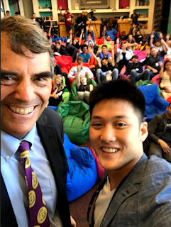 Alaric Moses Ong with Billionaire Tim Draper