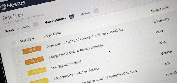 Cara Memindai Kerentanan / Vuln web dengan Nessus part 2
