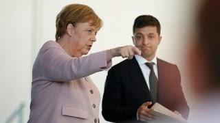 """Зеленський зізнався Меркель, про що домовляється з Путіним: """"Дуже вдячні"""""""