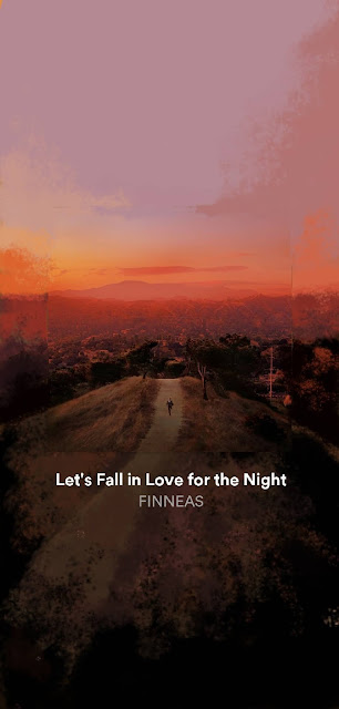 let's fall in love for the night spotifart