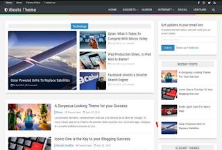 iBeats-Template-Blogger-Responsive-dan-Gratis