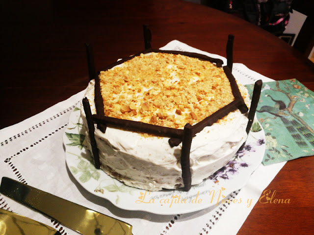 Tarta de zanahoria - Carrot cake (otra receta)