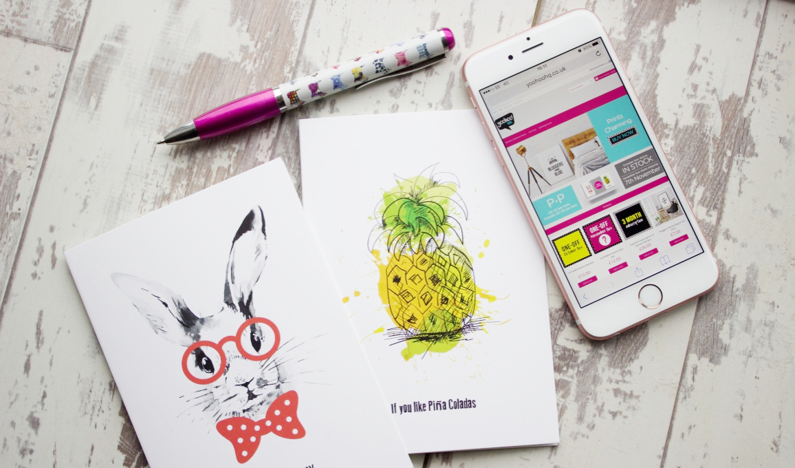 YooHoo Mail Stationery Subscription Box