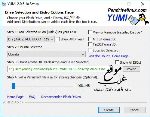YUMI Multiboot USB-Creator
