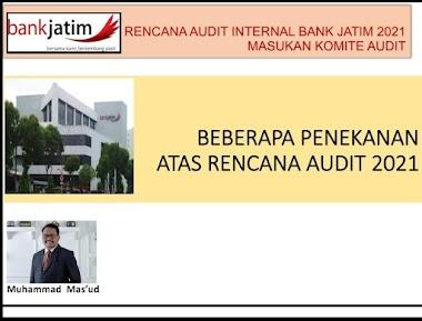 Rancangan Audit Plan BPD Jatim Untuk Proses Transformasi Pengelolaan Risiko.