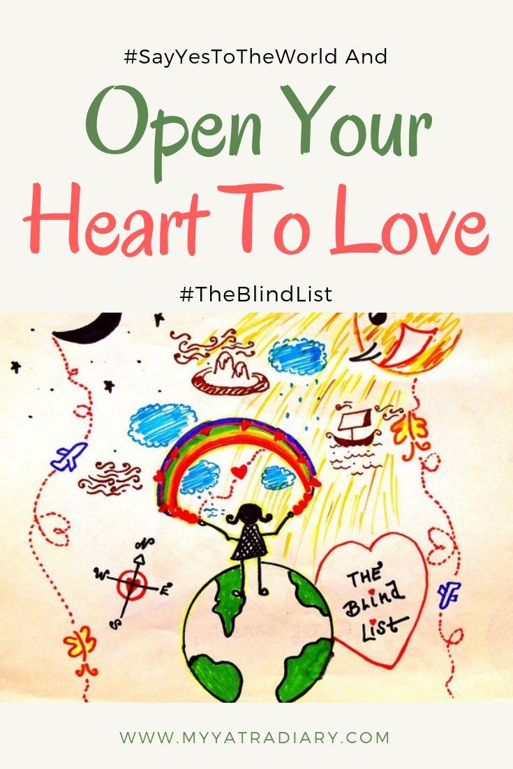 #TheBlindList Lufthansa India - #SayYesToTheWorld Pinterest