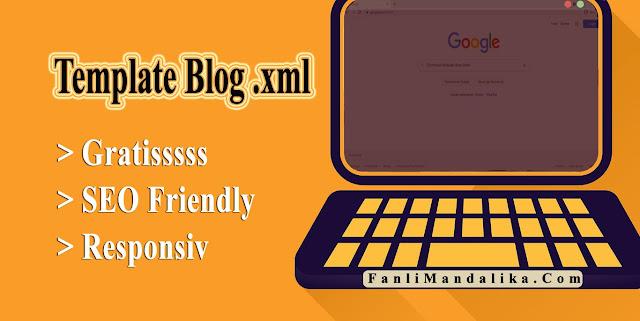 Download Template Blog Gratis XML