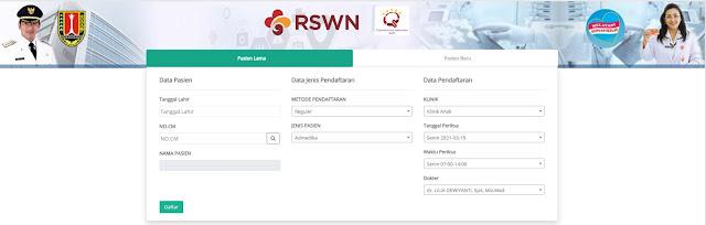 Pendaftaran Online RSWN Semarang