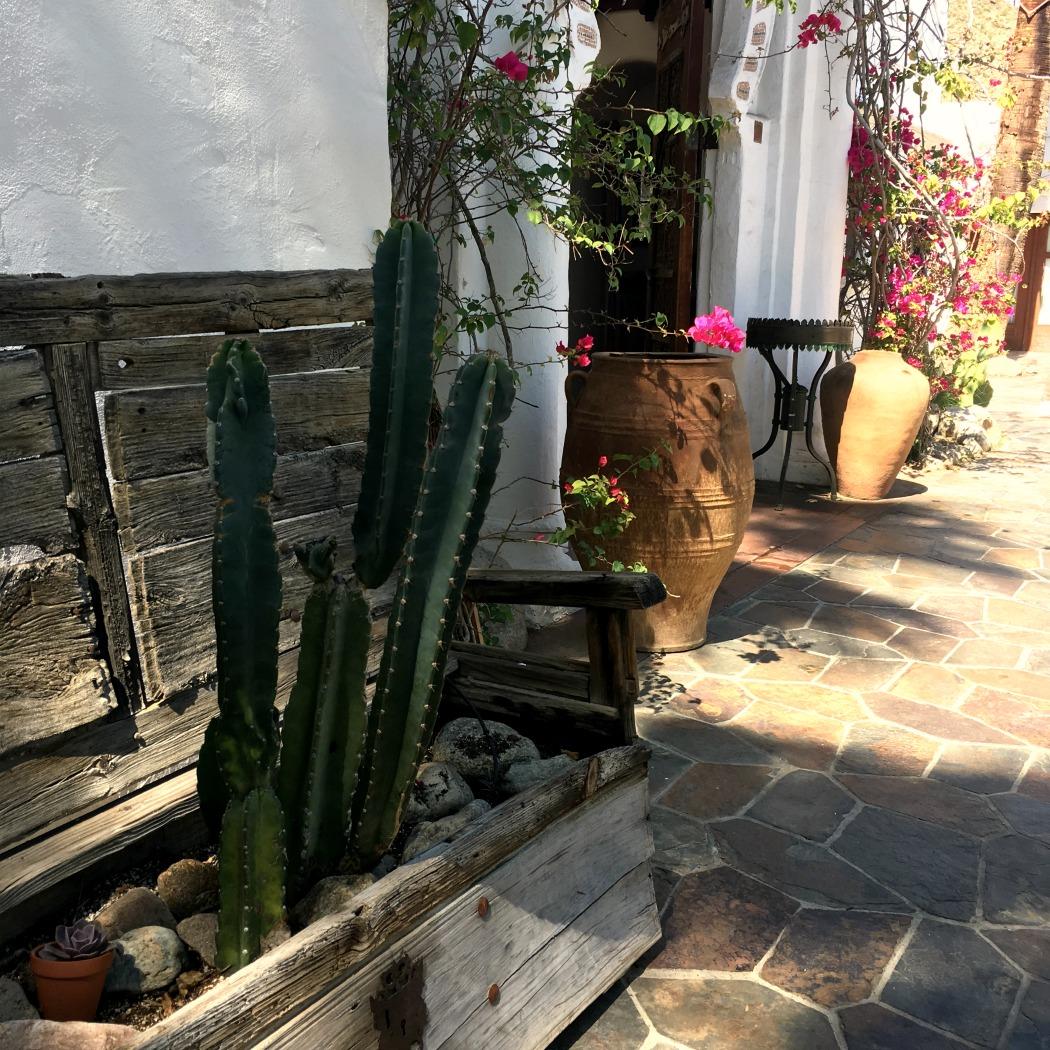 Korakia Cacti Mediterranean Hideaway Courtyard