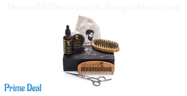 30% OFF Beard Grooming & Trimming Kit for Men Care