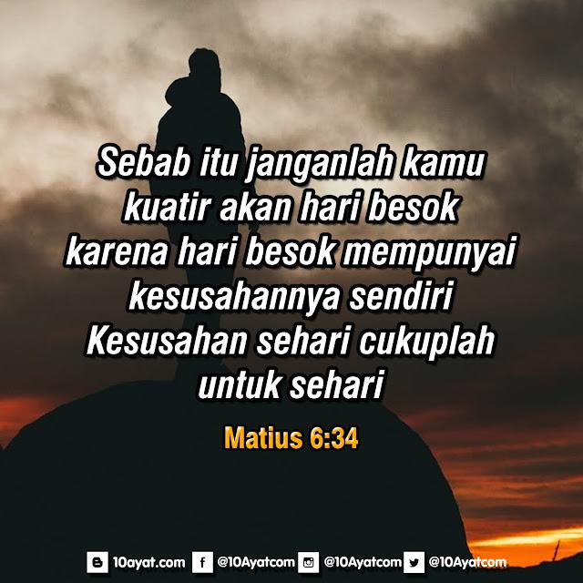 Matius 6:34