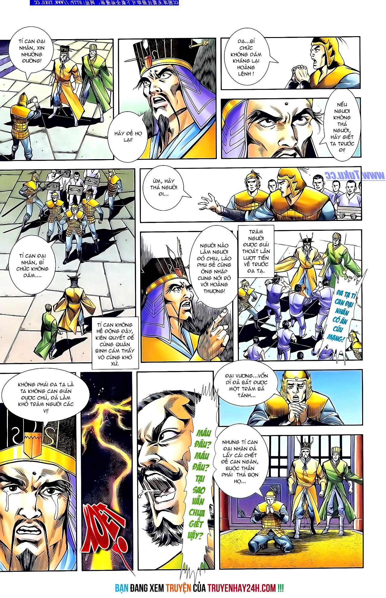 Cơ Phát Khai Chu Bản chapter 134 trang 28