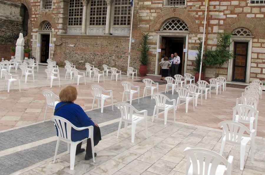 Παρατείνεται η ισχύς των προσωρινών περιοριστικών μέτρων σε χώρους λατρείας