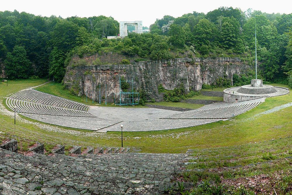 open-air theater in the Kuhtal on St. Annaberg in Upper Silesia