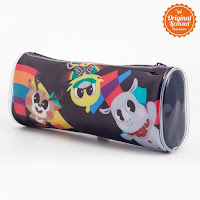 Alfacart Asian Games 2018 Pencil Case Black ANDHIMIND