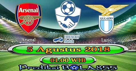 Prediksi Bola855 Arsenal vs Lazio 5 Agustus 2018