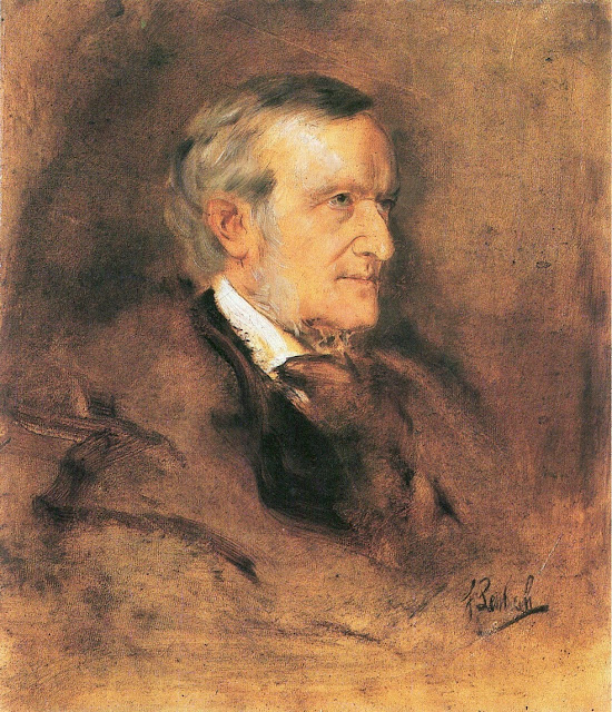 Franz von Lenbach, Richard Wagner (ca. 1882)