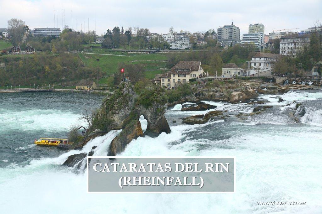 Cómo visitar las cataratas del Rin (Rheinfall), en Suiza